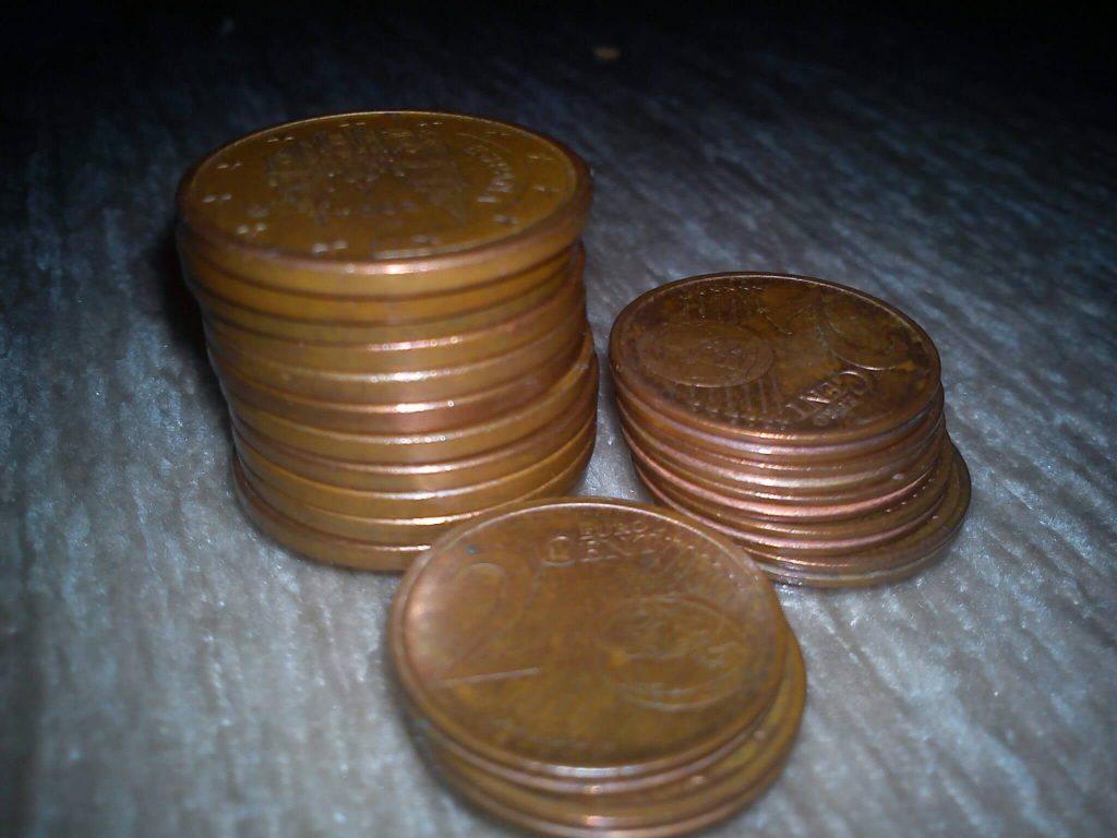 Monedas de centimo de euro
