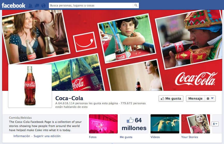 Coca-Cola en Facebook
