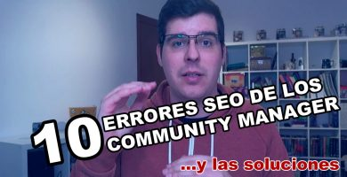 Errores SEO de un Community Manager